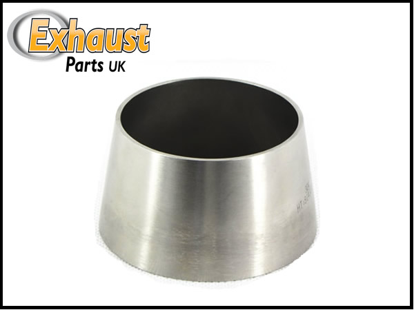 Stainless steel custom exhaust cones reducers quot to
