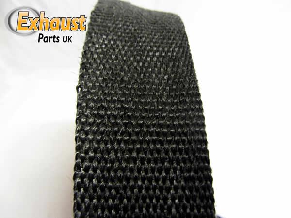 noir protection thermique pot chappement haute temp rature collecteur ebay. Black Bedroom Furniture Sets. Home Design Ideas