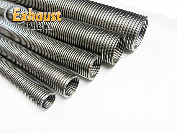 2 5 Flexible Exhaust Pipe : Quot mm meter universal flexible stainless steel